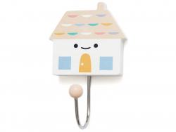 Acheter Patère maison en bois - pêche - 3,79€ en ligne sur La Petite Epicerie - 100% Loisirs créatifs