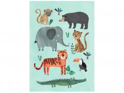 Acheter Carte postale - Animaux sauvages - 1,29€ en ligne sur La Petite Epicerie - Loisirs créatifs