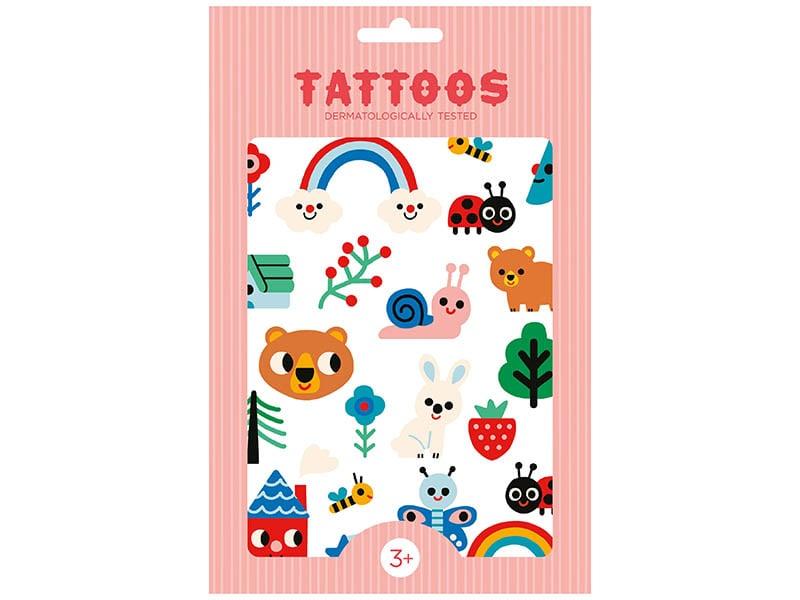 Acheter Planches de tatouages - Nature - 7,59€ en ligne sur La Petite Epicerie - 100% Loisirs créatifs