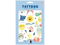 Acheter Planches de tatouages - Animaux - 8,29€ en ligne sur La Petite Epicerie - Loisirs créatifs