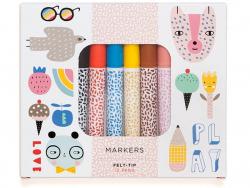 Acheter Set de 12 feutres pinceaux - 15,09€ en ligne sur La Petite Epicerie - 100% Loisirs créatifs