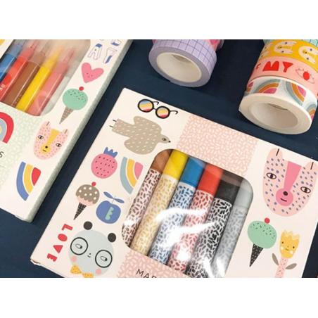 Acheter Set de 12 feutres pinceaux - 14,99€ en ligne sur La Petite Epicerie - Loisirs créatifs