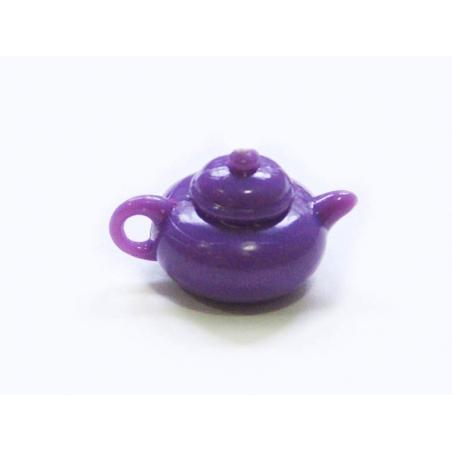 Théière violette