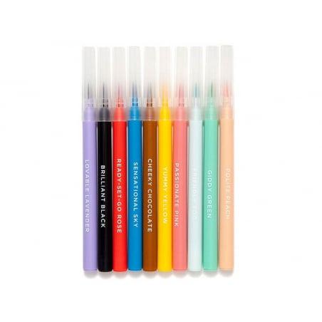 Acheter Set de 10 feutres pinceaux - 12,59€ en ligne sur La Petite Epicerie - Loisirs créatifs