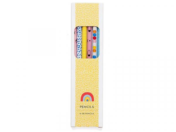 Acheter Set de 6 crayons de bois - 6,79€ en ligne sur La Petite Epicerie - Loisirs créatifs