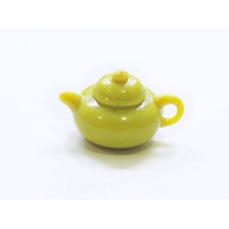Acheter Théière jaune - pour vitrines miniatures et bijoux gourmands - 0,59€ en ligne sur La Petite Epicerie - Loisirs créatifs