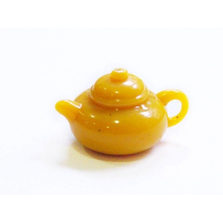 Acheter Théière orange - pour vitrines miniatures et bijoux gourmands - 0,59€ en ligne sur La Petite Epicerie - Loisirs créa...