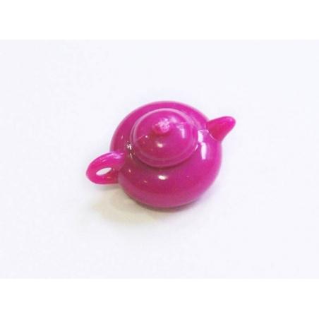 Acheter Théière rose fushia - pour vitrines miniatures et bijoux gourmands - 0,59€ en ligne sur La Petite Epicerie - Loisirs...