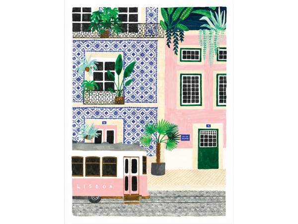 Acheter Affiche aquarelle - Lisboa - 18 x 24 cm - ATWS - 11,99€ en ligne sur La Petite Epicerie - Loisirs créatifs