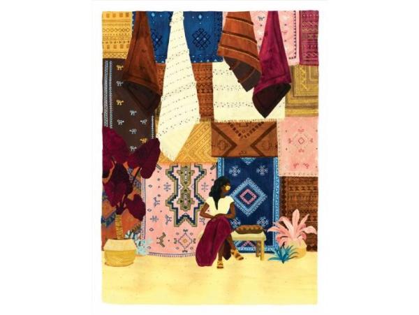 Acheter Affiche aquarelle - Souk - 18 x 24 cm - ATWS - 11,99€ en ligne sur La Petite Epicerie - 100% Loisirs créatifs