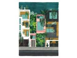 Acheter Affiche aquarelle - Buildings - 18 x 24 cm - ATWS - 11,99€ en ligne sur La Petite Epicerie - Loisirs créatifs