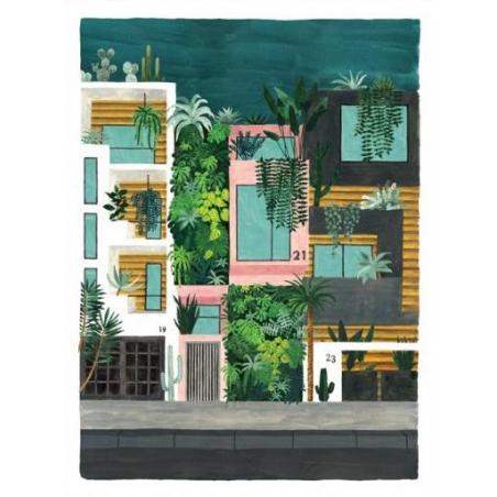 Acheter Affiche aquarelle - Buildings - 18 x 24 cm - ATWS - 11,99€ en ligne sur La Petite Epicerie - 100% Loisirs créatifs