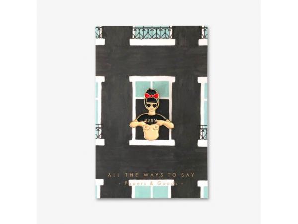 Acheter Pin's Hey sexy - ATWS - 8,99€ en ligne sur La Petite Epicerie - Loisirs créatifs