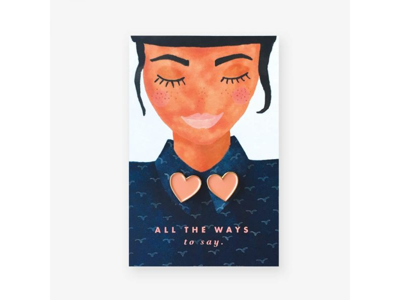 Acheter Pin's duo coeurs - ATWS - 8,99€ en ligne sur La Petite Epicerie - Loisirs créatifs