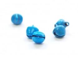 1 Metallglöckchen - Mattes Blau