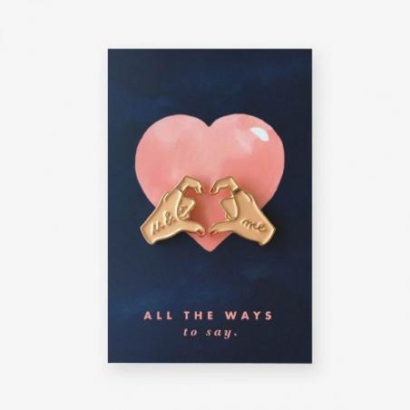 Acheter Pin's Hands of love - ATWS - 8,99€ en ligne sur La Petite Epicerie - Loisirs créatifs