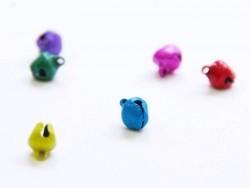 Acheter 1 petit grelot en métal - bleu mat - 0,29€ en ligne sur La Petite Epicerie - Loisirs créatifs