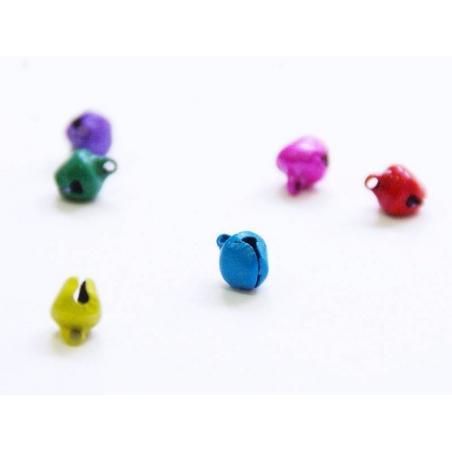 Acheter 1 petit grelot en métal - vert mat - 0,19€ en ligne sur La Petite Epicerie - Loisirs créatifs