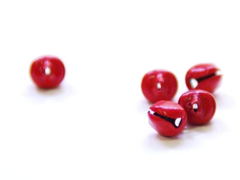 Acheter 1 petit grelot en métal - rouge mat - 0,29€ en ligne sur La Petite Epicerie - 100% Loisirs créatifs