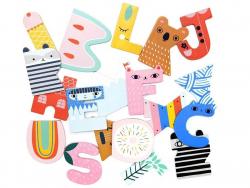 Acheter Lettre décorative en bois - H - 2,19€ en ligne sur La Petite Epicerie - 100% Loisirs créatifs