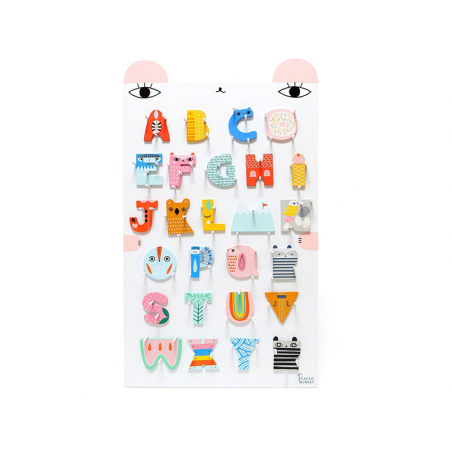 Acheter Lettre décorative en bois - K - 2,19€ en ligne sur La Petite Epicerie - Loisirs créatifs