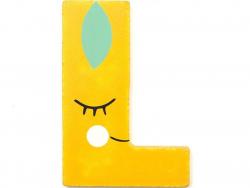 Acheter Lettre décorative en bois - L - 2,19€ en ligne sur La Petite Epicerie - Loisirs créatifs
