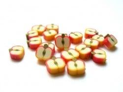 20 perles pommes