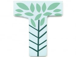 Acheter Lettre décorative en bois - T - 2,19€ en ligne sur La Petite Epicerie - Loisirs créatifs