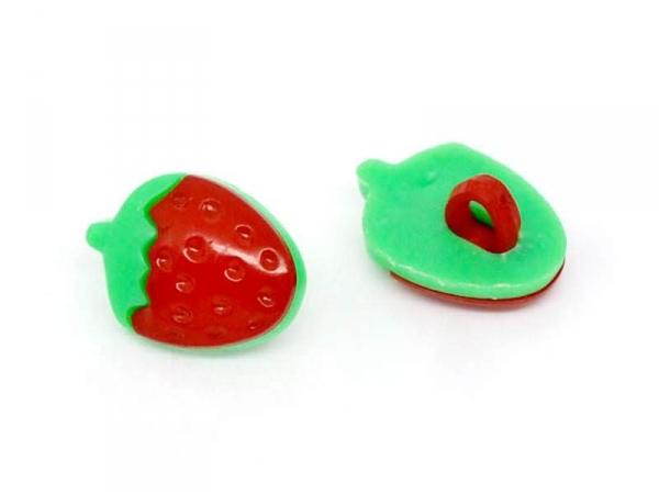 Bouton plastique - petite fraise