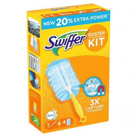 Acheter Kit swiffer 1 manche + 3 recharges - 2,49€ en ligne sur La Petite Epicerie - Loisirs créatifs