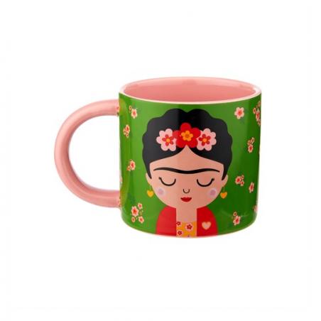 Acheter Mug Frida Kahlo en porcelaine - Sass and Belle - 9,99€ en ligne sur La Petite Epicerie - 100% Loisirs créatifs