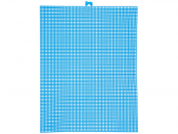Acheter Canevas plastique Bargello - Bleu néon - 26,5 x 34 cm - 2,99€ en ligne sur La Petite Epicerie - Loisirs créatifs