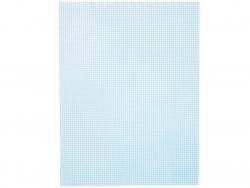 Acheter Canevas plastique Bargello - Bleu clair - 26,5 x 34 cm - 2,99€ en ligne sur La Petite Epicerie - Loisirs créatifs
