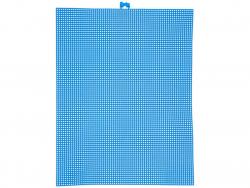 Acheter Canevas plastique Bargello - Bleu foncé - 26,5 x 34 cm - 2,99€ en ligne sur La Petite Epicerie - Loisirs créatifs