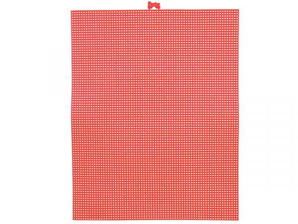 Acheter Canevas plastique Bargello - Rouge - 26,5 x 34 cm - 2,99€ en ligne sur La Petite Epicerie - 100% Loisirs créatifs