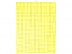 Acheter Canevas plastique Bargello - Jaune néon - 26,5 x 34 cm - 2,99€ en ligne sur La Petite Epicerie - Loisirs créatifs