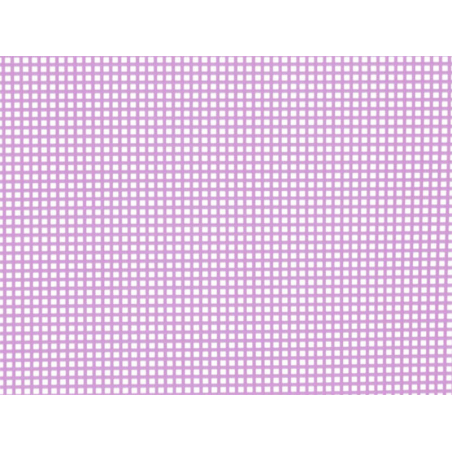 Acheter Canevas plastique Bargello - Rose néon - 26,5 x 34 cm - 2,99€ en ligne sur La Petite Epicerie - 100% Loisirs créatifs