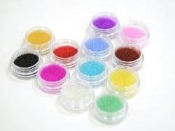 Acheter Lot de 12 couleurs de microbilles transclucides - 15,90€ en ligne sur La Petite Epicerie - 100% Loisirs créatifs
