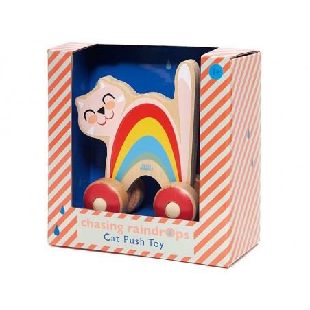 Acheter Chat en bois à roulettes - 17,99€ en ligne sur La Petite Epicerie - Loisirs créatifs