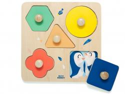 Acheter Puzzle à formes avec poignées - Une journée au zoo - 17,99€ en ligne sur La Petite Epicerie - 100% Loisirs créatifs