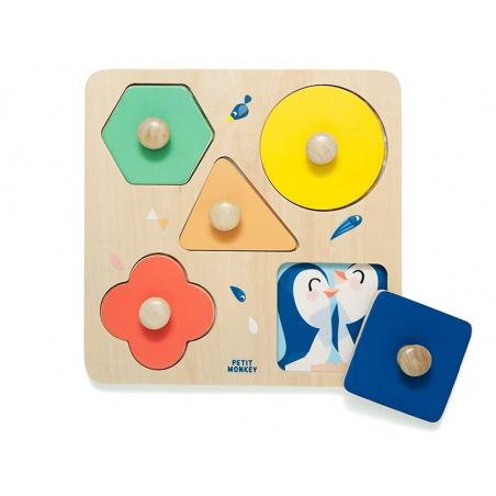 Acheter Puzzle à formes avec poignées - Une journée au zoo - 17,99€ en ligne sur La Petite Epicerie - Loisirs créatifs