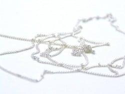 Acheter Chaine gourmette 1 mm argent clair x 20 cm - 0,49€ en ligne sur La Petite Epicerie - 100% Loisirs créatifs