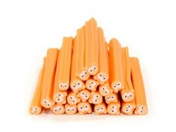 Acheter Cane ourson orange fluo - en pâte fimo - 0,99€ en ligne sur La Petite Epicerie - Loisirs créatifs