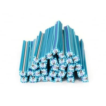 Acheter Cane papillon bleu turquoise en pâte polymère - 0,99€ en ligne sur La Petite Epicerie - 100% Loisirs créatifs