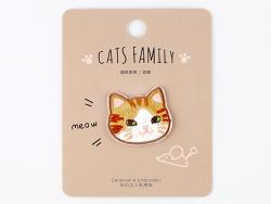 Acheter Patch thermocollant - Petit chat kawaii roux - 2,99€ en ligne sur La Petite Epicerie - 100% Loisirs créatifs
