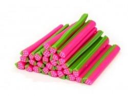 Acheter Cane fraise rose fluo - 0,99€ en ligne sur La Petite Epicerie - Loisirs créatifs