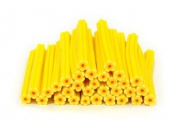 Flower cane - sunshine yellow