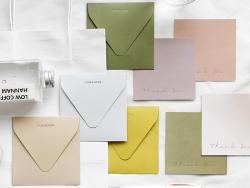 Acheter Cartes de remerciements avec enveloppes - Dégradé de vert - 4,89€ en ligne sur La Petite Epicerie - Loisirs créatifs