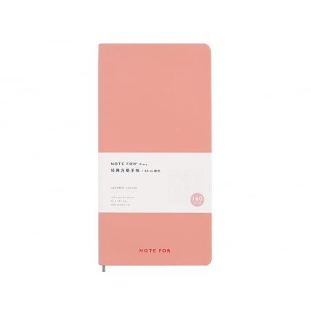Acheter Carnet à petits carreaux - Rose pêche - 7,99€ en ligne sur La Petite Epicerie - Loisirs créatifs
