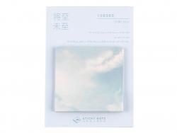 Acheter Lot de 30 notes adhésives - nuages et ciel bleu - 1,19€ en ligne sur La Petite Epicerie - Loisirs créatifs